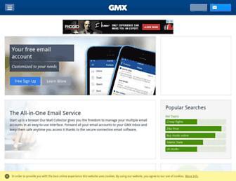 gmx.com screenshot