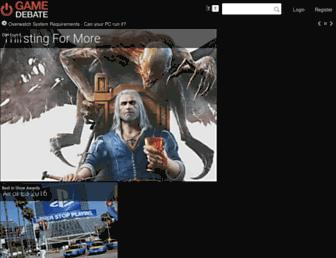 game-debate.com screenshot