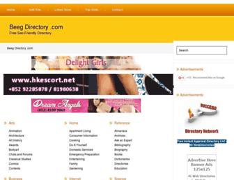 Thumbshot of Beegdirectory.com