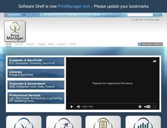softwareshelf.com screenshot