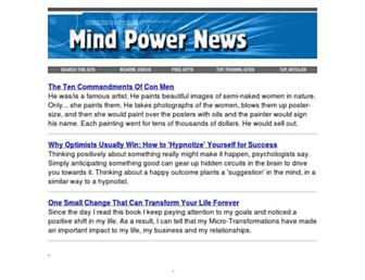 Thumbshot of Mindpowernews.com