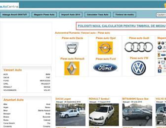 autocentral.ro screenshot