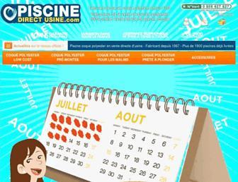 piscine-direct-usine.com screenshot