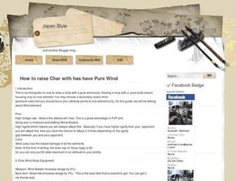 mastar-trick-ninja-saga.blogspot.com screenshot