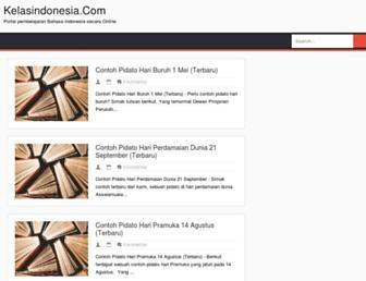 kelasindonesia.com screenshot