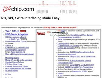 i2cchip.com screenshot