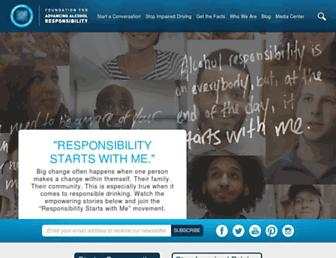 Thumbshot of Responsibility.org