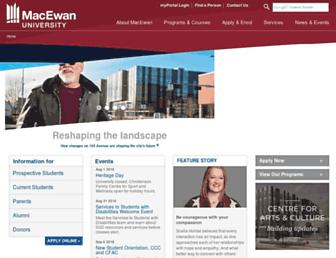 Thumbshot of Macewan.ca