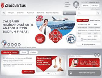 ziraatbank.com.tr screenshot