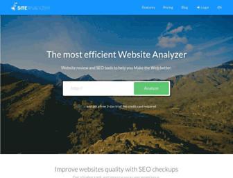 Thumbshot of Site-analyzer.com