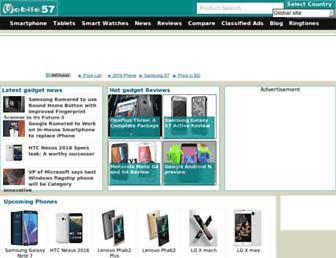 mobile57.com screenshot