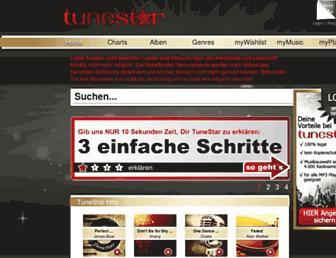 tunestar.de screenshot
