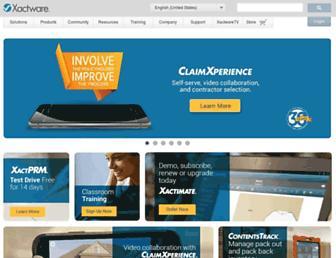 Thumbshot of Xactware.com