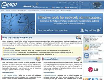 emcosoftware.com screenshot