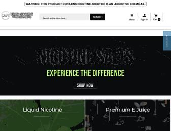 liquidnicotinewholesalers.com screenshot