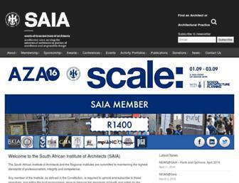 saia.org.za screenshot