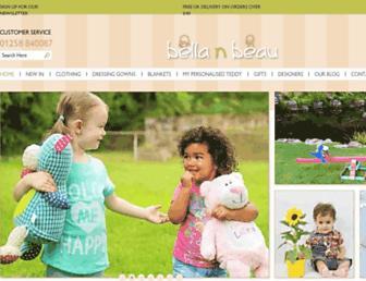 Thumbshot of Bellanbeau.co.uk