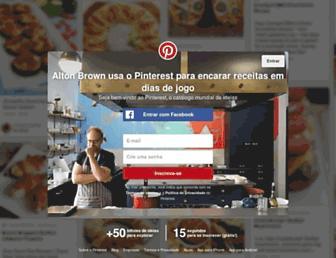 br.pinterest.com screenshot