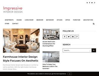 impressiveinteriordesign.com screenshot