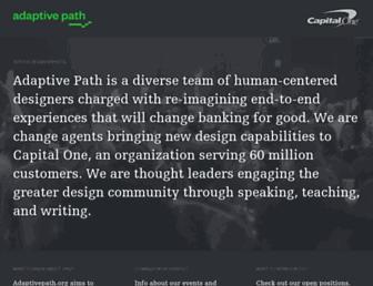 Thumbshot of Adaptivepath.com