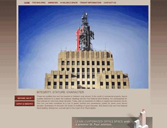 firstnationalbankbuilding.com screenshot
