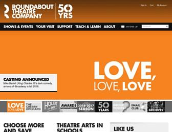 Thumbshot of Roundabouttheatre.org