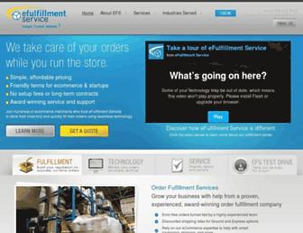 Thumbshot of Efulfillmentservice.com