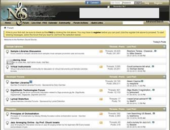 northernsounds.com screenshot