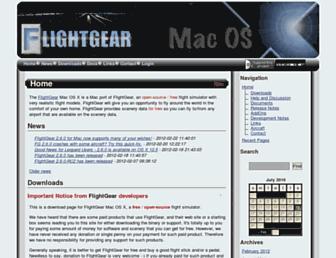 macflightgear.sourceforge.net screenshot