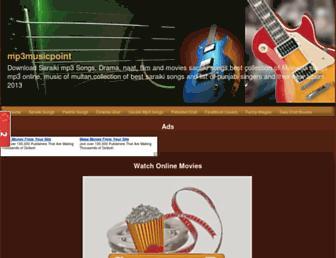 mp3musicpoint.blogspot.com screenshot