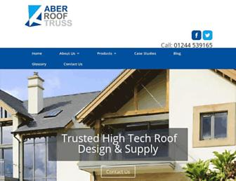 aberrooftruss.co.uk screenshot