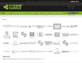 shop.hybridsupply.de screenshot