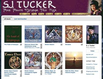 music.sjtucker.com screenshot