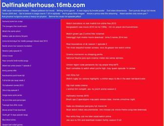 delfinakellerhouse.16mb.com screenshot