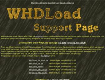 whdload.de screenshot