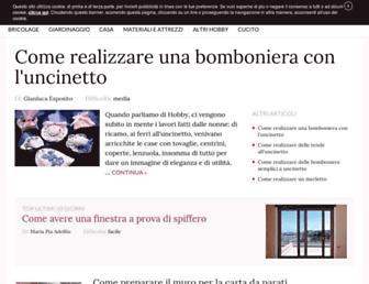faidatemania.pianetadonna.it screenshot