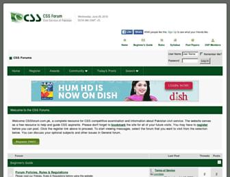 Thumbshot of Cssforum.com.pk