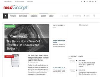 Thumbshot of Medgadget.com
