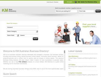 Thumbshot of Kmdirectory.com.au