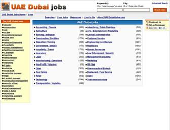 Thumbshot of Uaedubaijobs.com