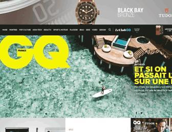 gqmagazine.fr screenshot