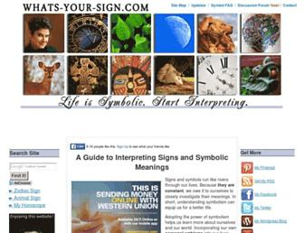 Thumbshot of Whats-your-sign.com