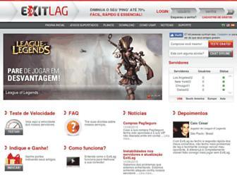 exitlag.com screenshot