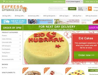 Thumbshot of Expressgiftservice.co.uk