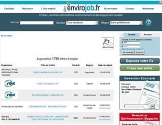 Thumbshot of Envirojob.fr