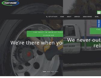 fleetcleanusa.com screenshot