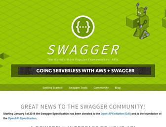 Thumbshot of Swagger.io
