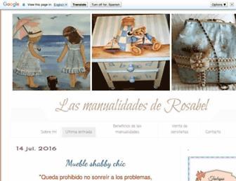 rosabelmanualidades.blogspot.com screenshot