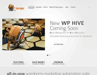 Thumbshot of Wp-hive.com
