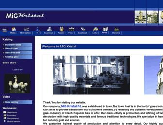 migkristal.com screenshot
